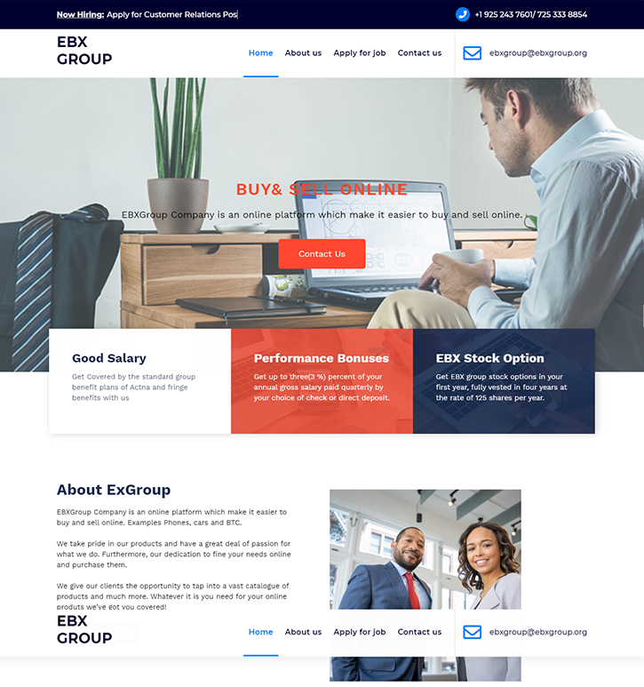 Our Works - Web builders Alliance